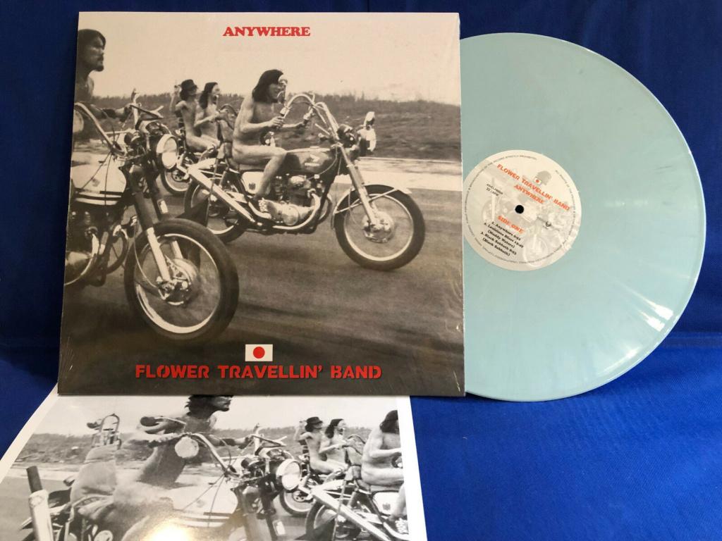 Records with car or motorbike on the sleeve - Disques avec une moto ou une voiture sur la pochette - Page 5 Flower10