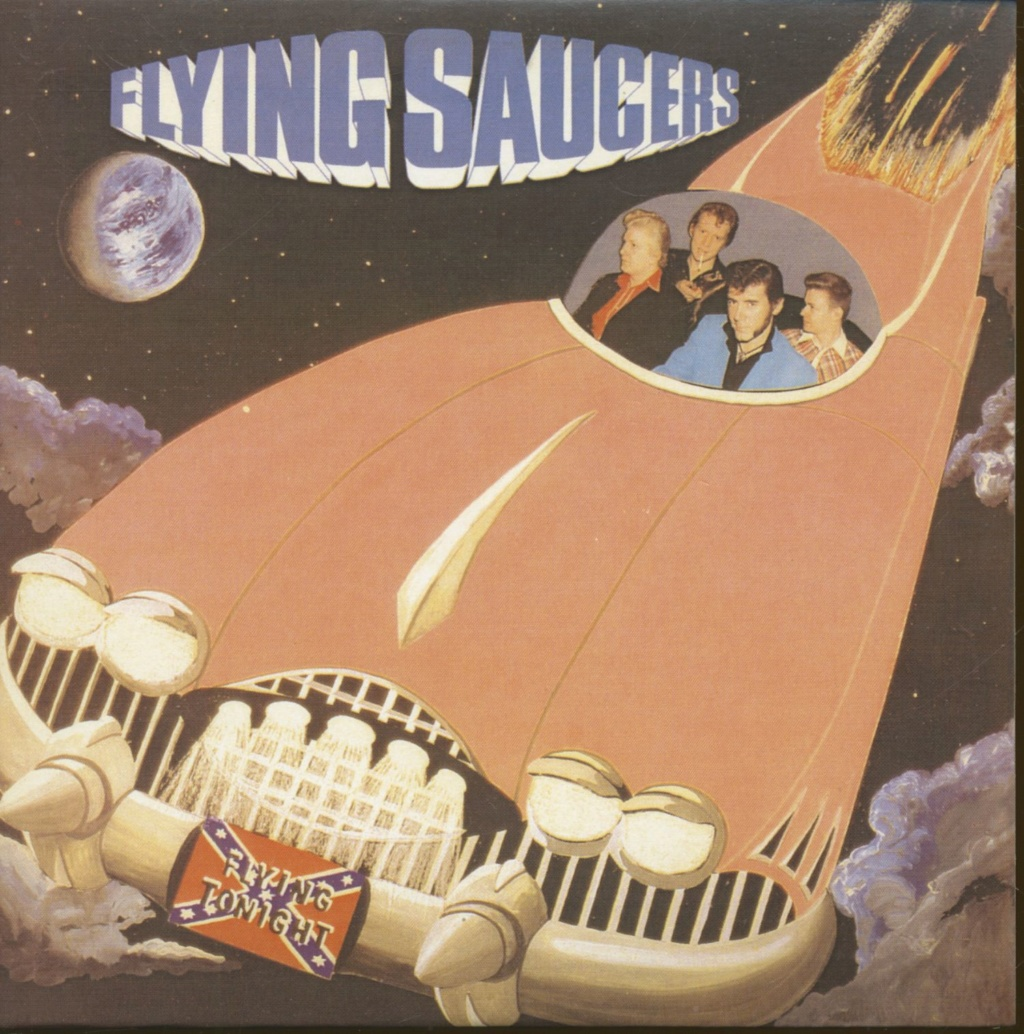 Records with car or motorbike on the sleeve - Disques avec une moto ou une voiture sur la pochette - Page 6 Flying10