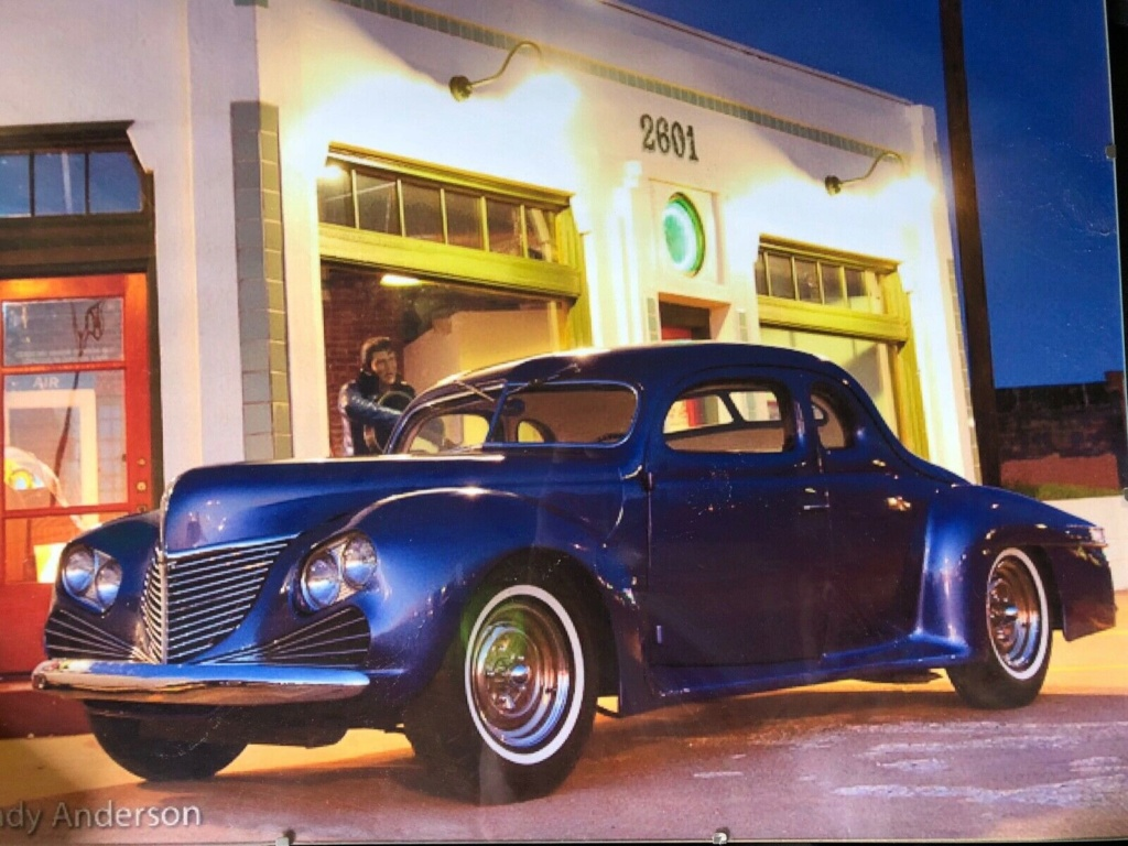 1939 Ford - Mc Nutt Coupe Fo410
