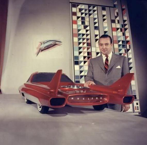 Ford Nucleon - concept car 1958 Ford-n10