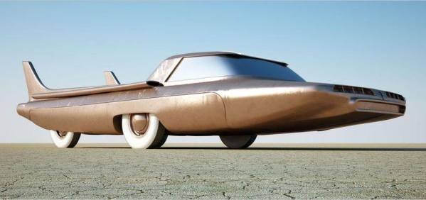 Ford Nucleon - concept car 1958 Ford-n11