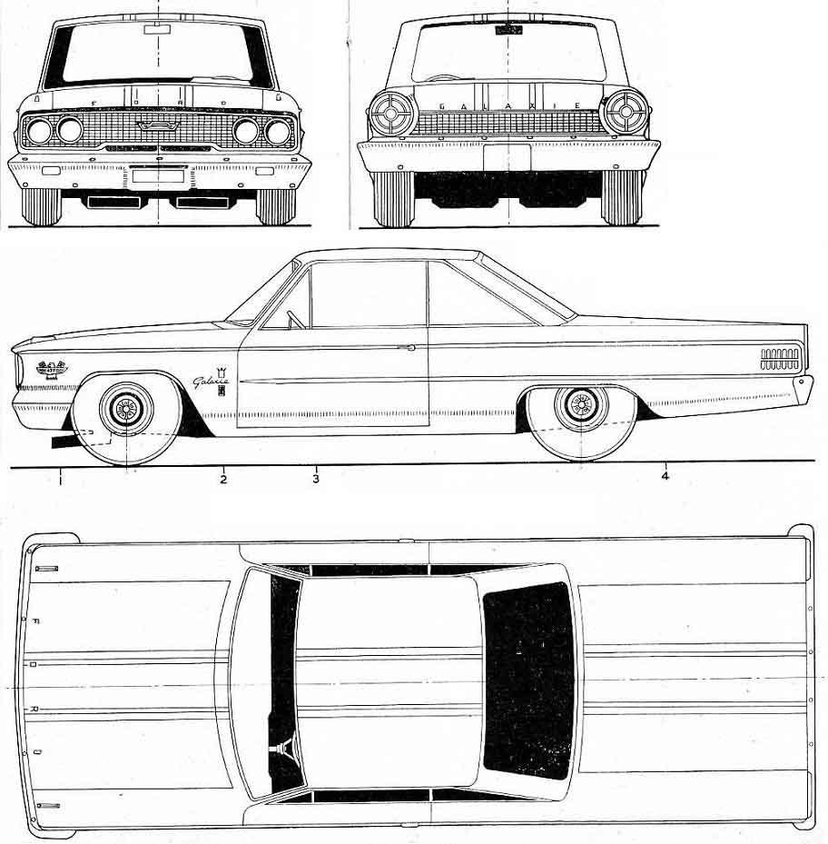 Dessin  automobiles classiques - Page 3 Fordga10