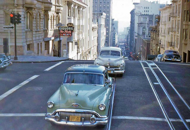 Rues fifties et sixties avec autos - 1950's & 1960's streets with cars - Page 5 Fr5-7610