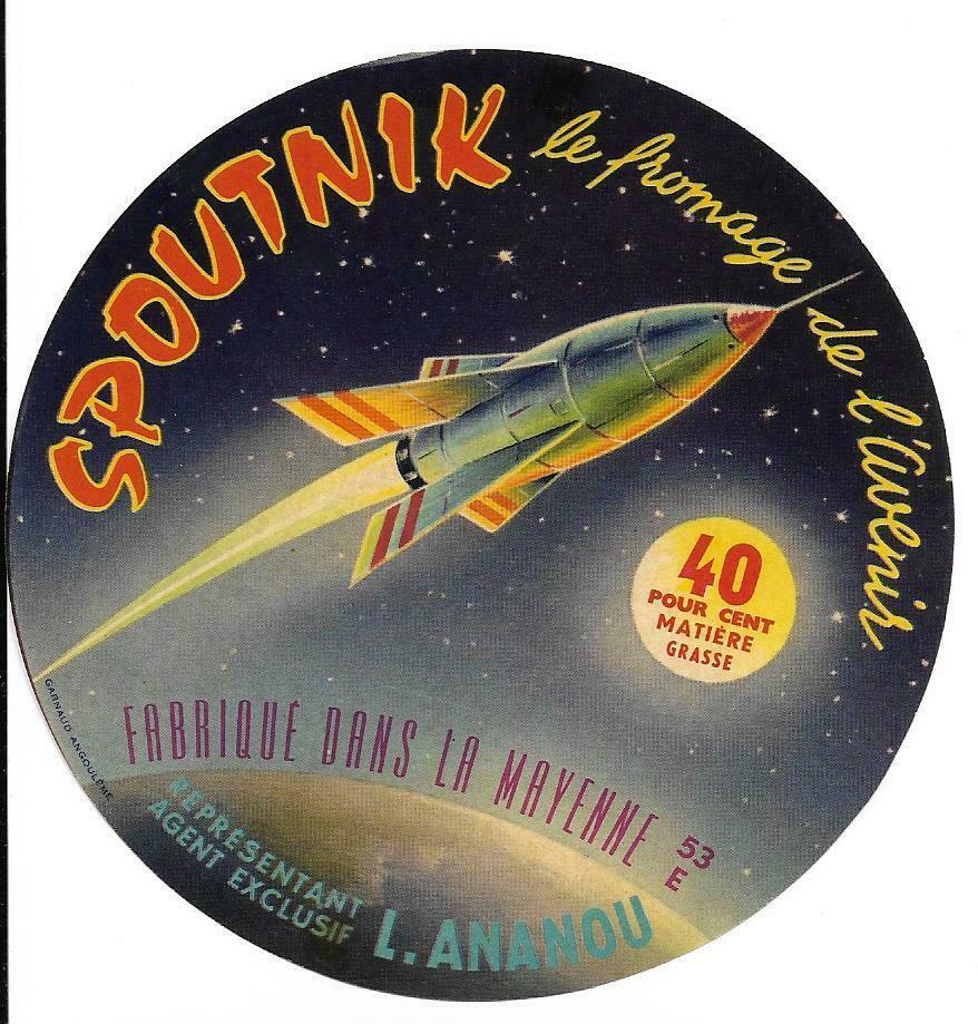 Spunik - Spoutnik - satellite, space age, design & style Fromag10