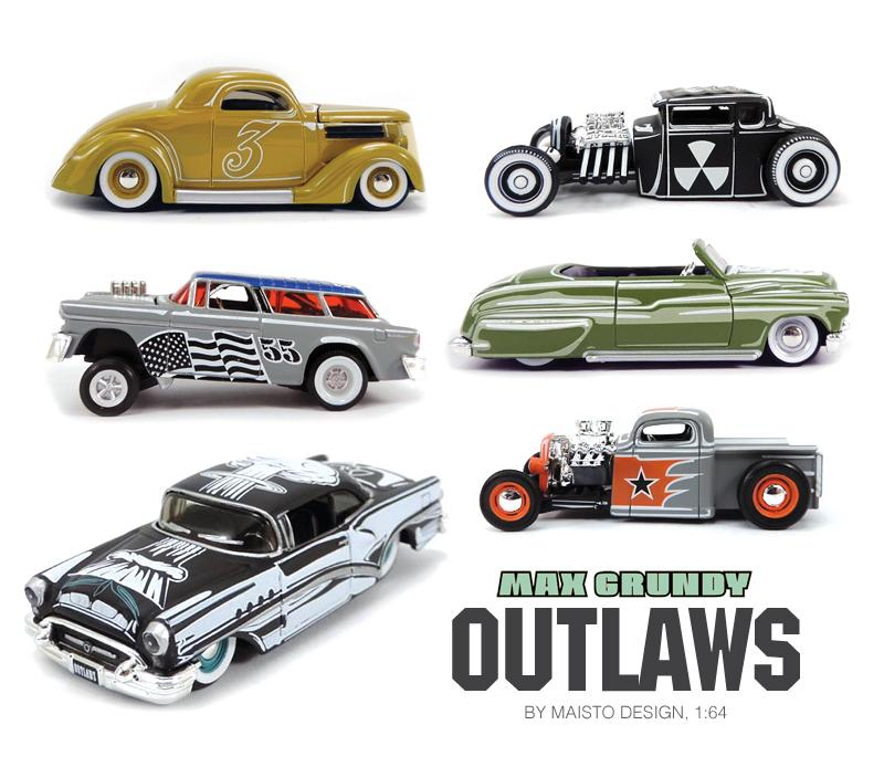 Max Grundy Outlaws - Maisto 1/64 Grundy10