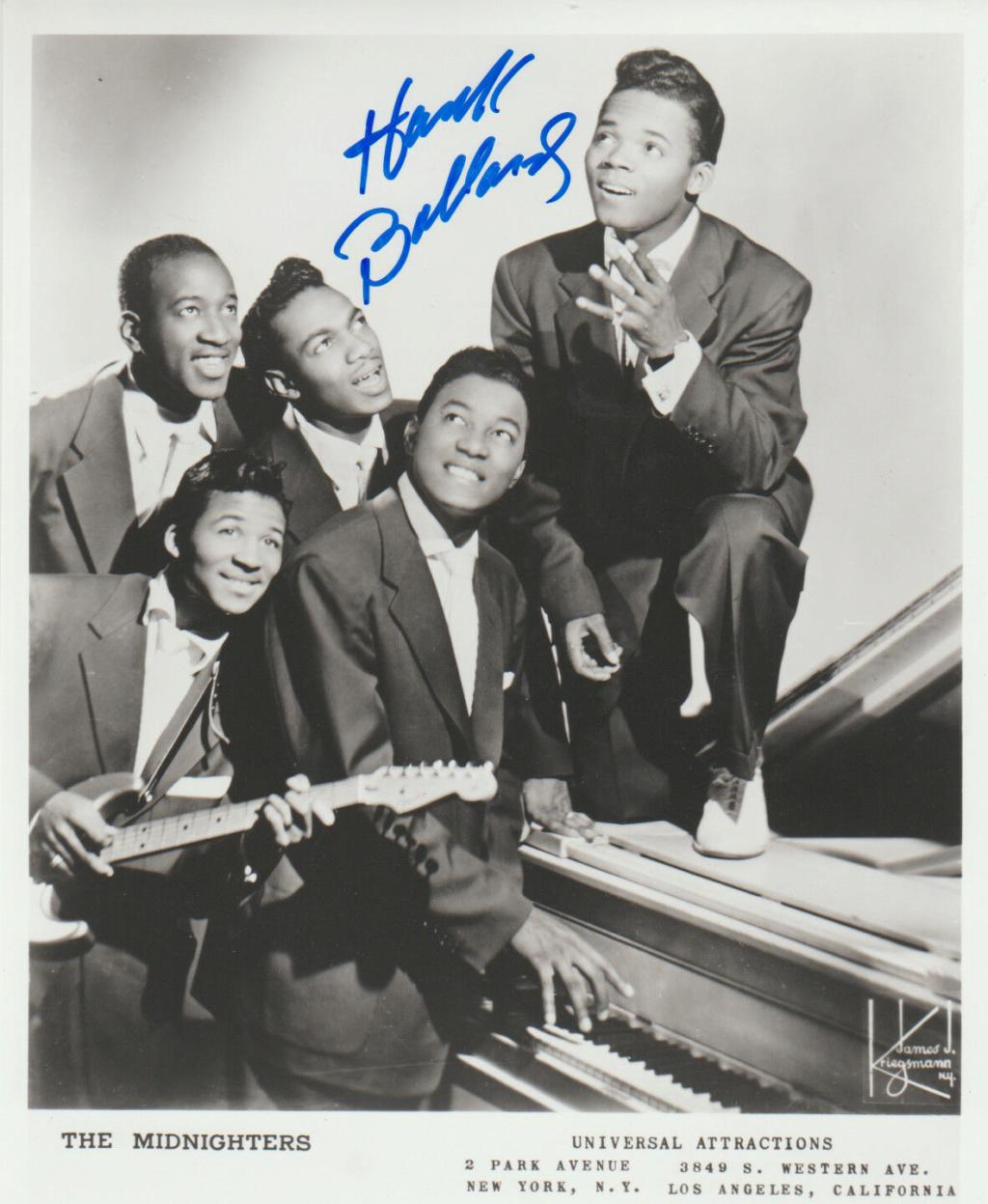 Hank Ballard and the Midnighters Hank_b12