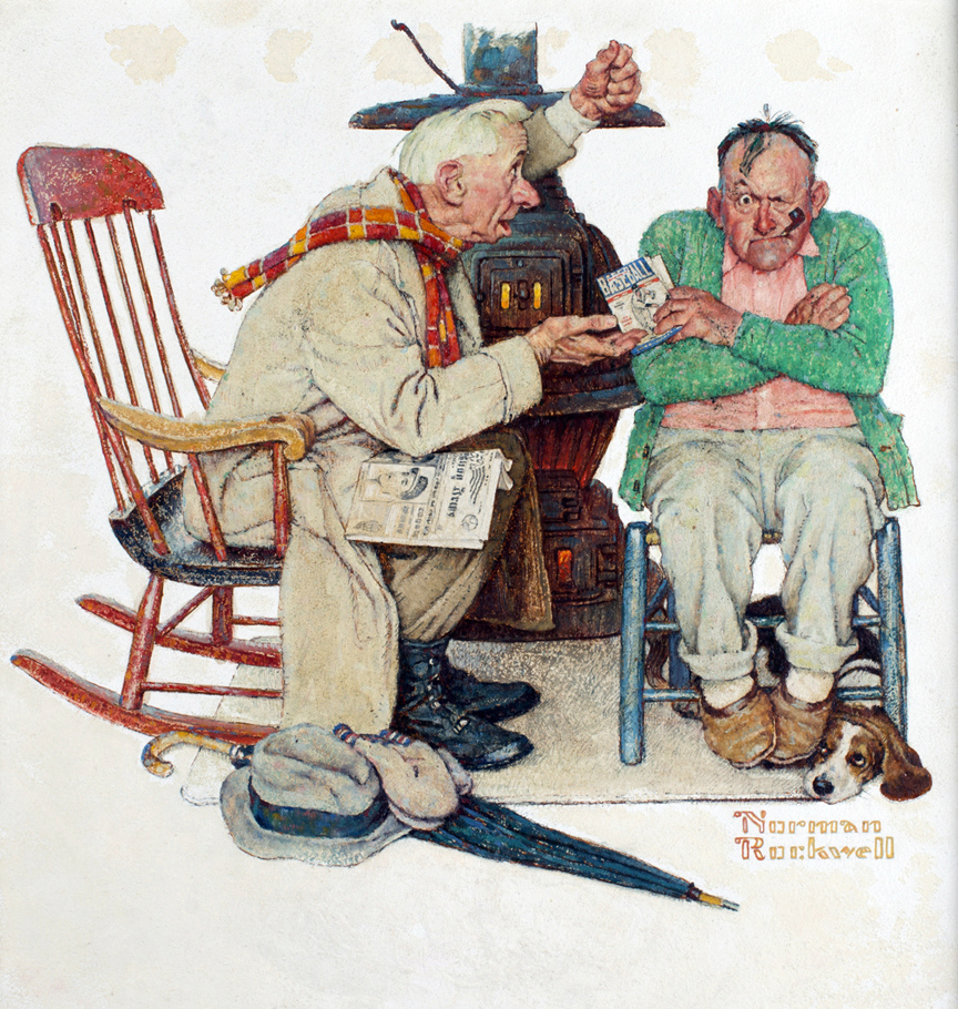 Norman Rockwell - painter (1894 -1978) Hot-st10