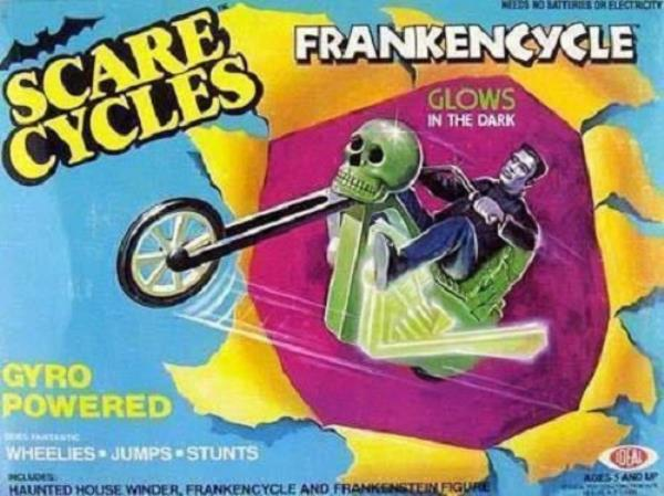 1978 IDEAL SCARE CYCLES MONSTER Frankenstein  I-img410