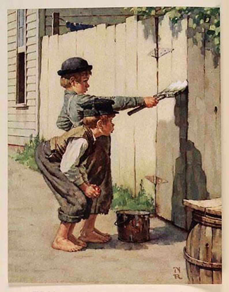 Norman Rockwell - painter (1894 -1978) Il_79418