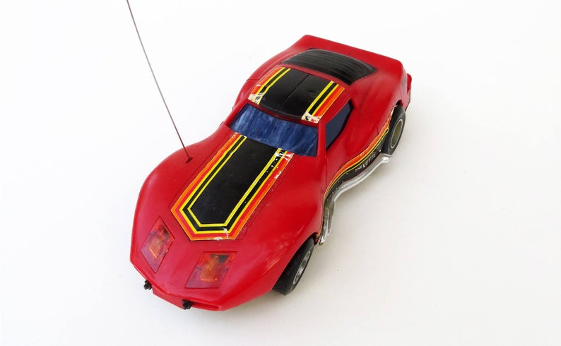 Radio controlled toys Car - George Barris Licenced - 70s Il_79420