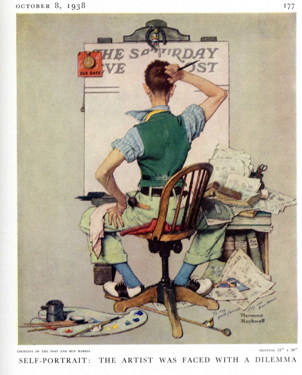 Norman Rockwell - painter (1894 -1978) Img00810