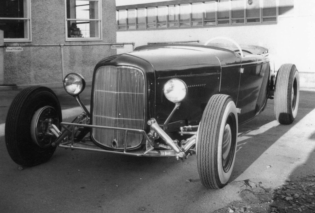 """Hot rod in street - Vintage pics - """"Photos rétros"""" -  - Page 6 Img01710"""