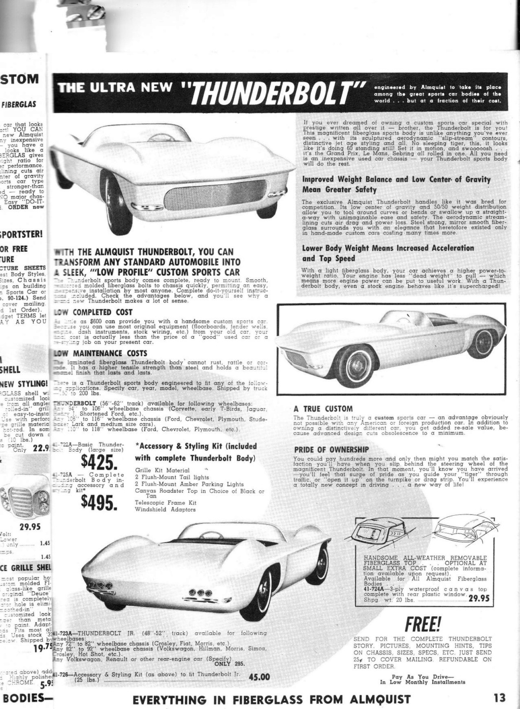 Almquist catalog, Speed, Mileage, Customizing, Performance - World's largest supplier of hi-performance equipement -  1963 Img_0013