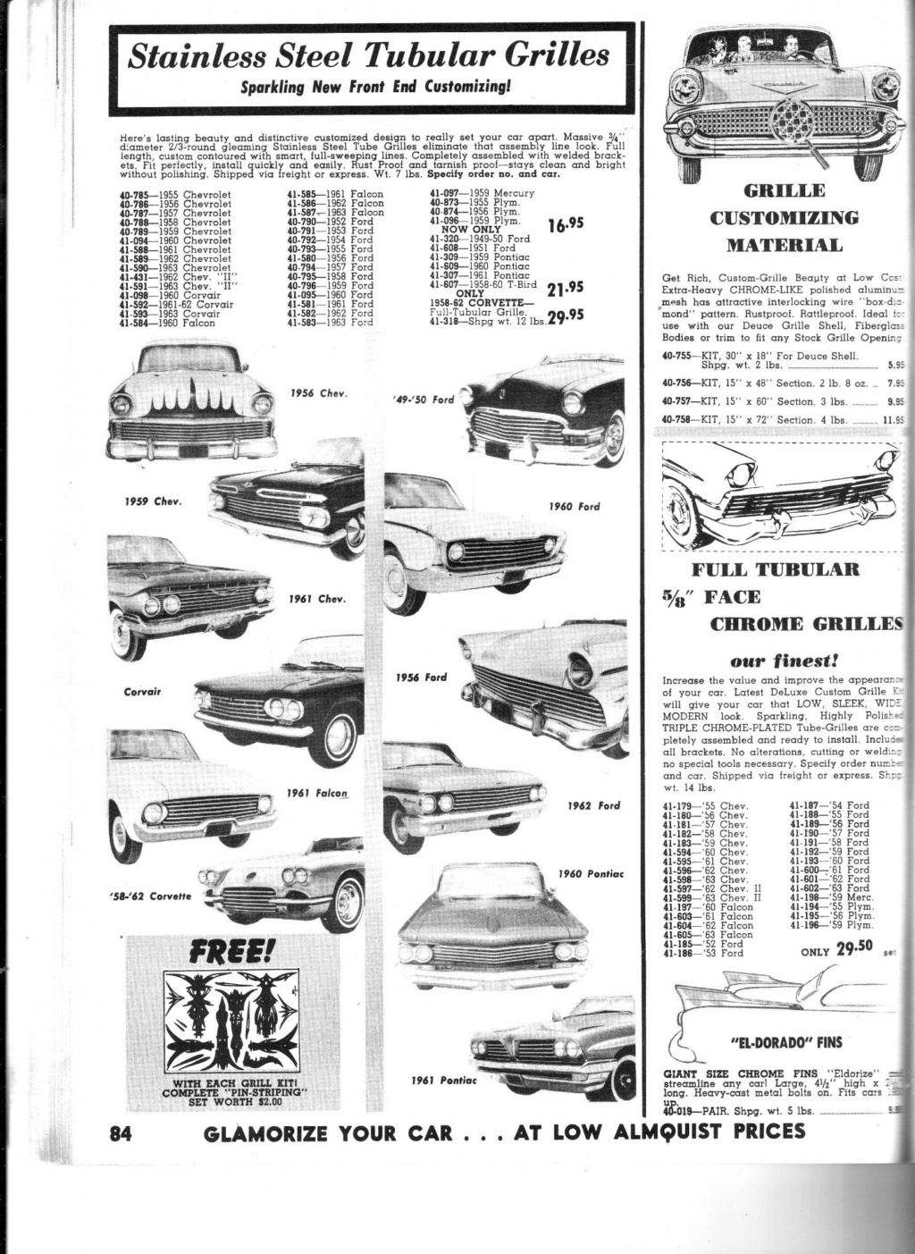 Almquist catalog, Speed, Mileage, Customizing, Performance - World's largest supplier of hi-performance equipement -  1963 Img_0015