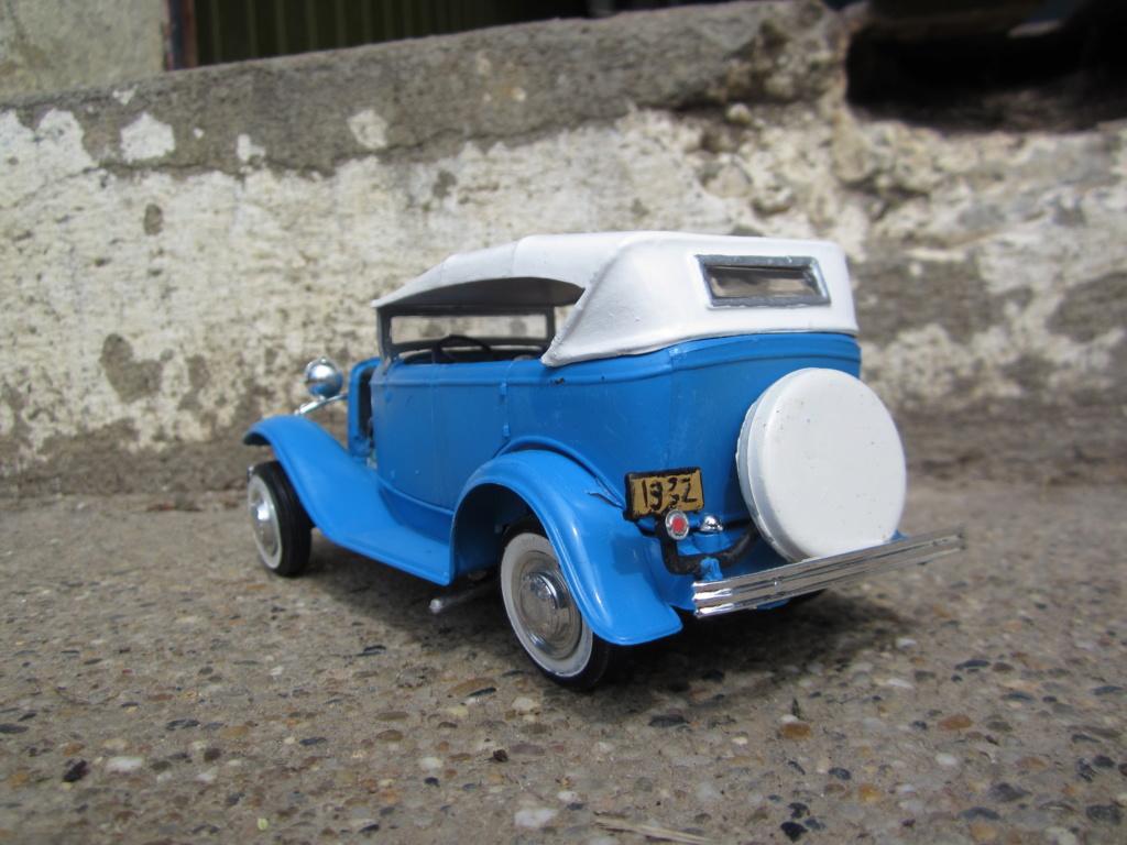 1932 Ford  Phaeton - amt - 1/25 scale - hot rod Img_2212