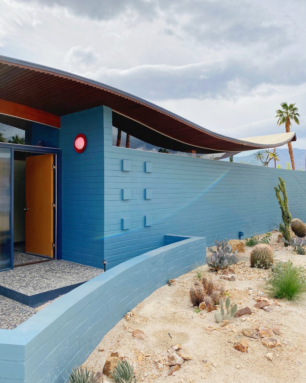 Wave house, Palm Spring. Walter S White 1955 Img_2912