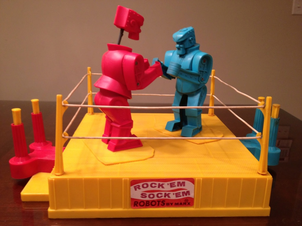Rock 'Em Sock 'Em Robots from Marx (1966) Img_3210