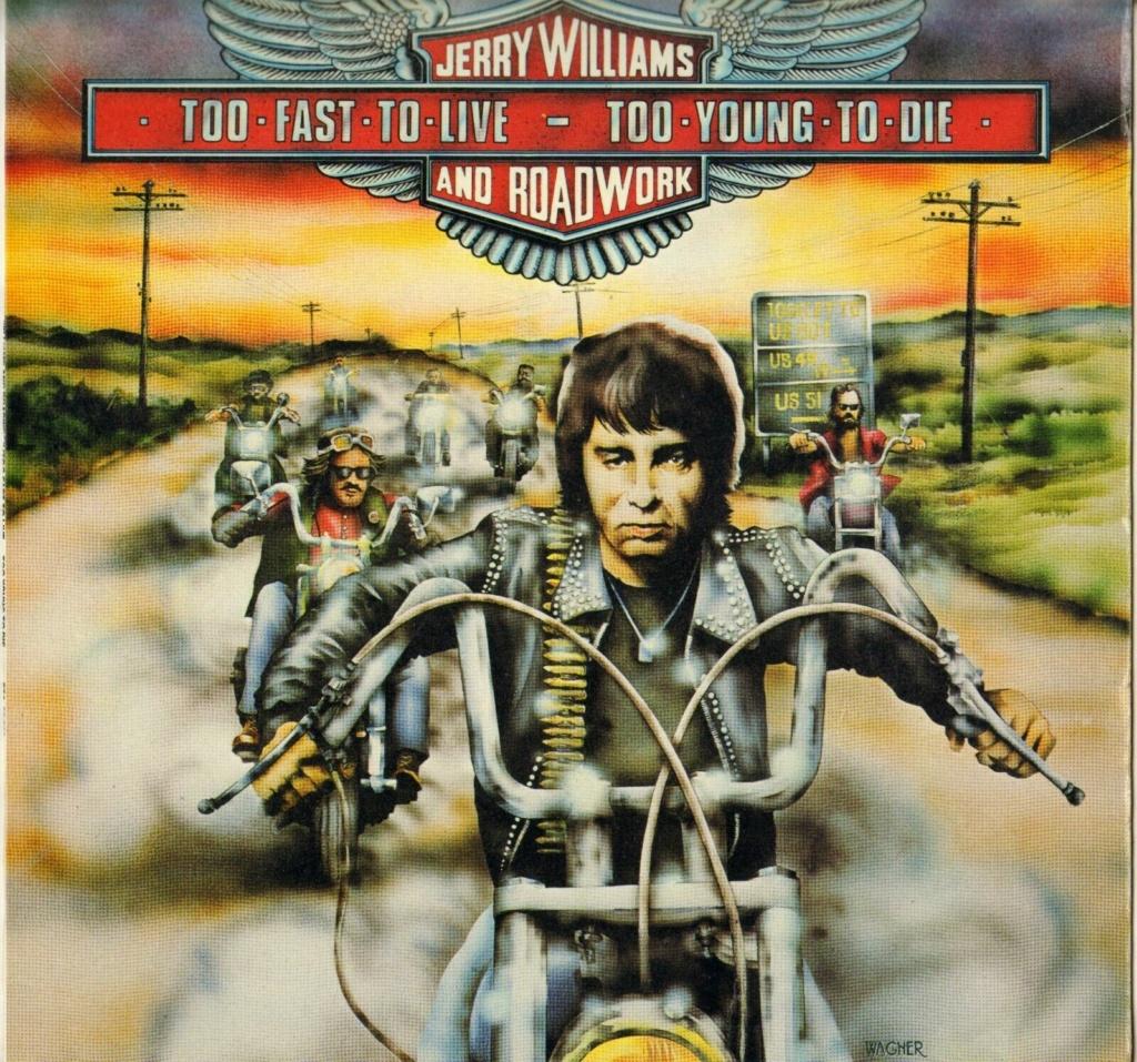 Records with car or motorbike on the sleeve - Disques avec une moto ou une voiture sur la pochette - Page 9 Jwilli10