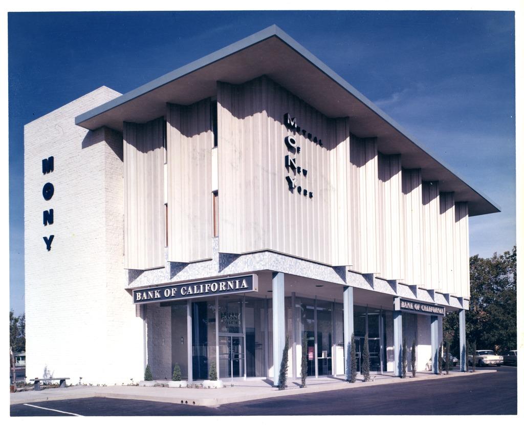 Architectures de banques et bureaux vintages - 1950's & 1960's Office & Bank  Kt829010