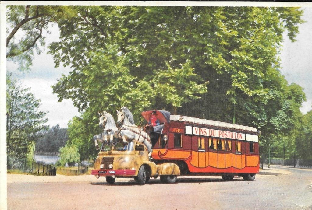 Berliet TLB Vins du Postillion - Tour de France - caravane publicitaire Large10