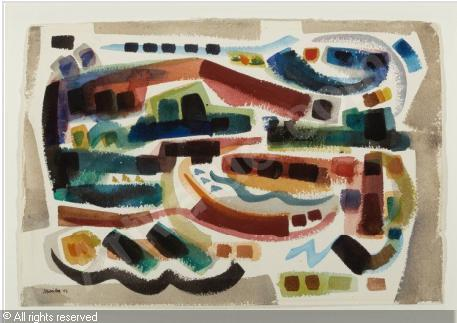 J. Jay McVicker (October 18, 1911 – August 31, 2004) American painter and sculptor Mcvick11