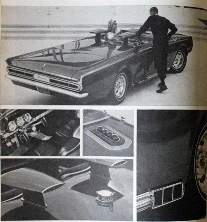 1964 Mercury Super Marauder  - George Barris Ms10
