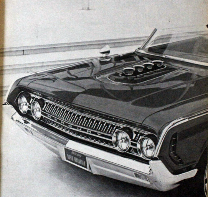 1964 Mercury Super Marauder  - George Barris Ms210
