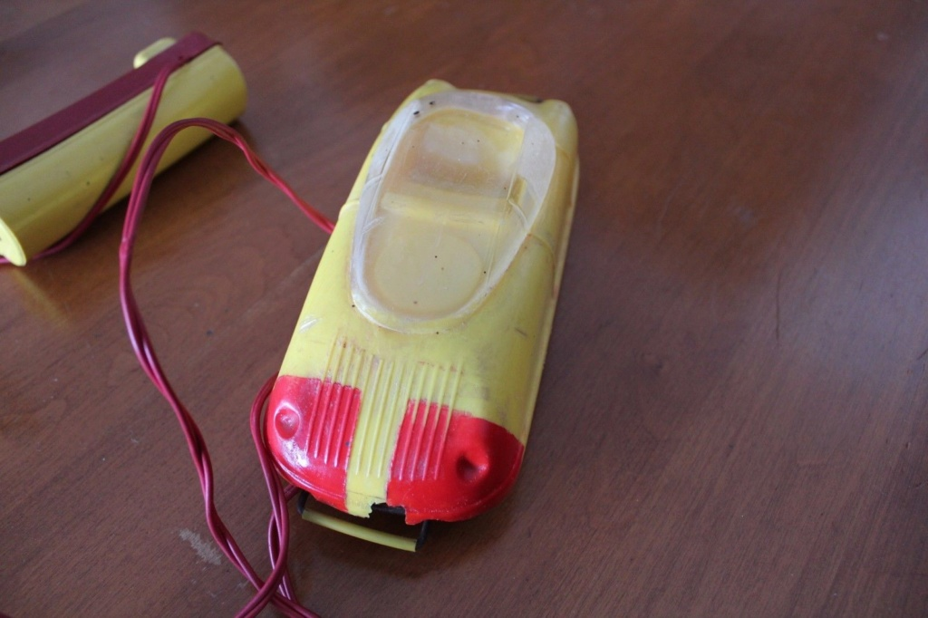 1950'S MORMAC PLANETEER REMOTE CONTROL FUTURISTIC SPACE CAR Nc210