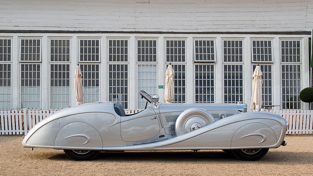 Mercedes-Benz 500K Erdmann and Rossi Streamline Roadster  - 1936  Nkyazc10