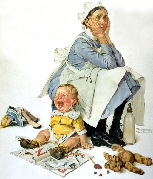 Norman Rockwell - painter (1894 -1978) Norman10