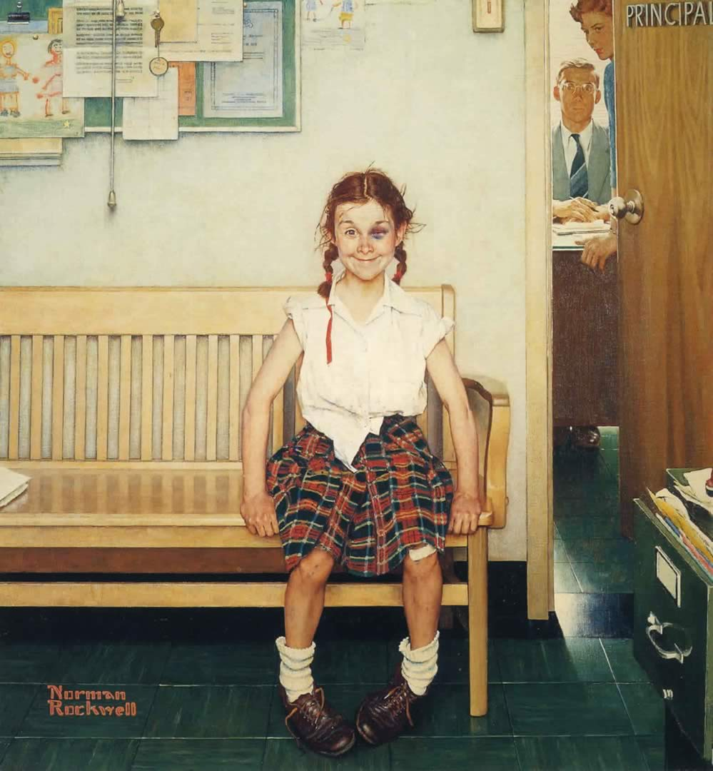 Norman Rockwell - painter (1894 -1978) Norman12