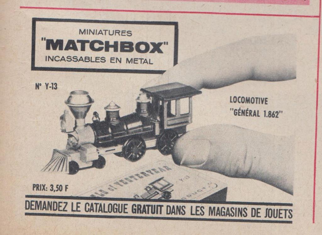 Publicités Matchbox début années 60 - Matchbox ads early 60s Oub_ma10