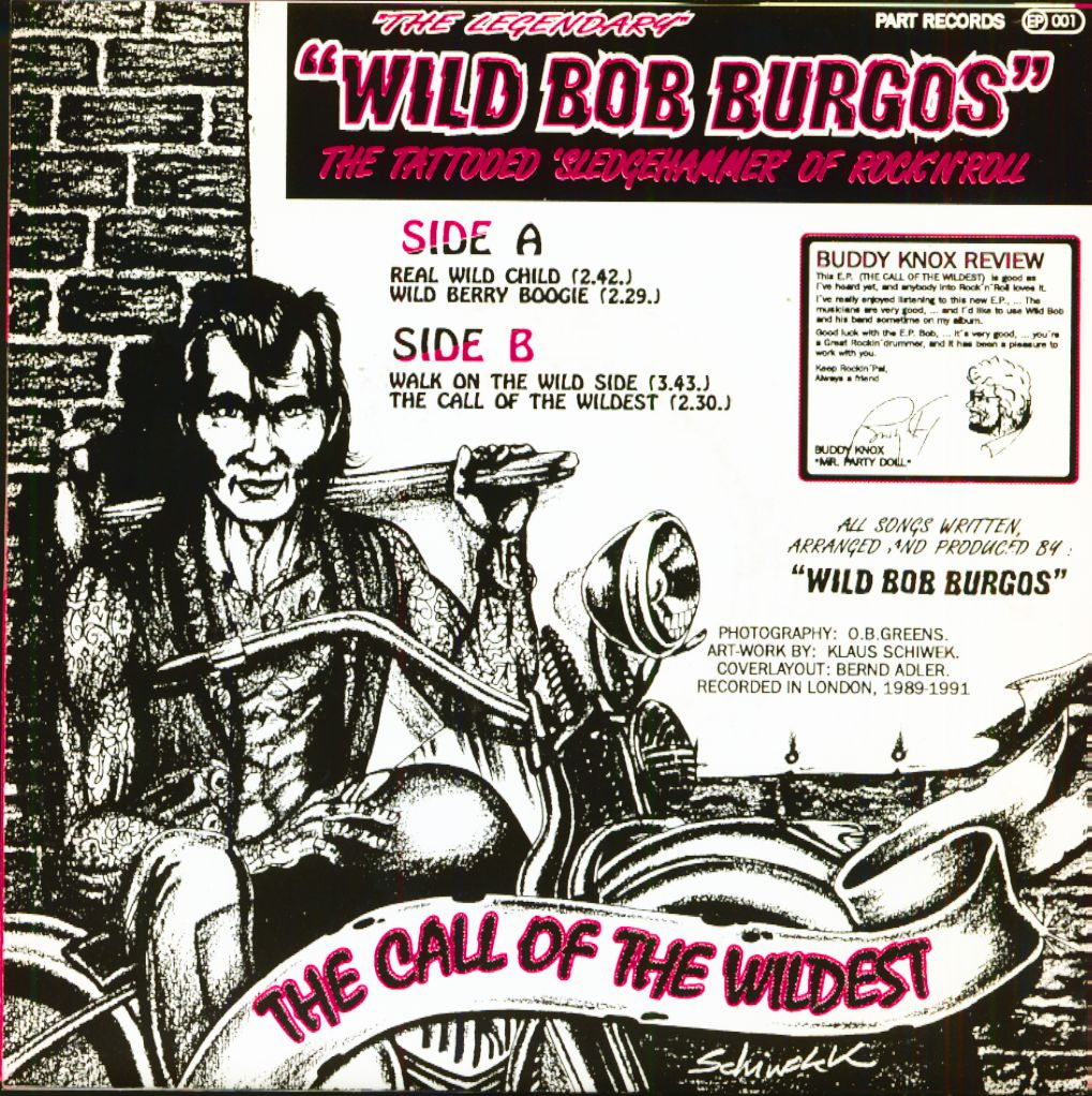 Wild Bob Burgos and his Houserockers - UK Rock 'n'roll and rockabilly revival Partep12