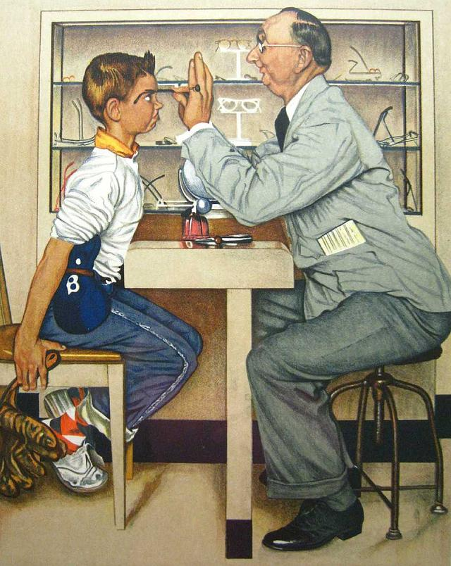 Norman Rockwell - painter (1894 -1978) Photo210