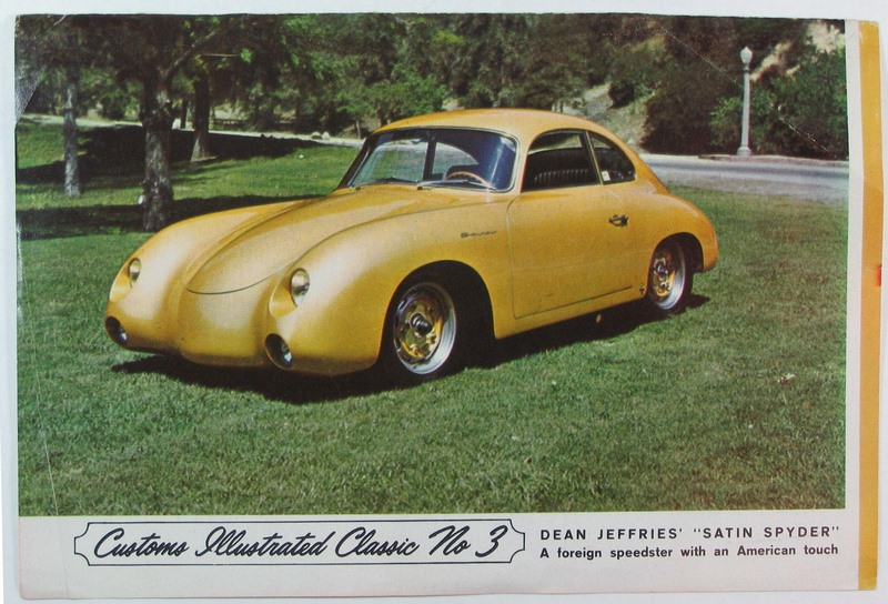 1956 Porsche 356 A Carrera GS - Dean Jeffries Porsch18