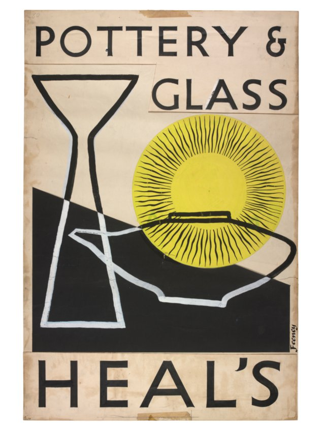 Charles Feeney - mid-century posters Potter10