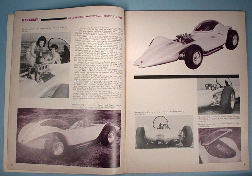 """1964 FALL EDITION"" HOT ROD & CUSTOM SOUVENIR PROGRAM - 1964 International Championship Auto Shows Prog_612"