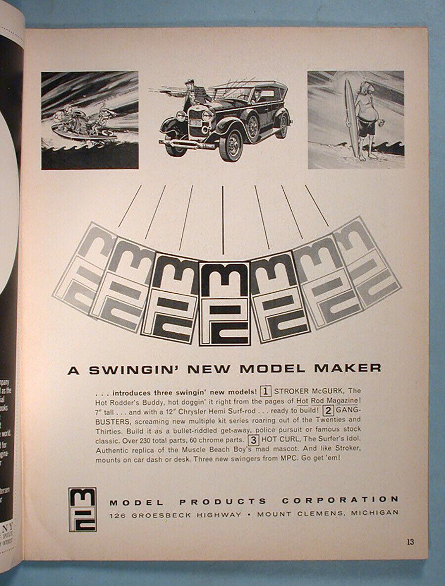 """1964 FALL EDITION"" HOT ROD & CUSTOM SOUVENIR PROGRAM - 1964 International Championship Auto Shows Prog_613"