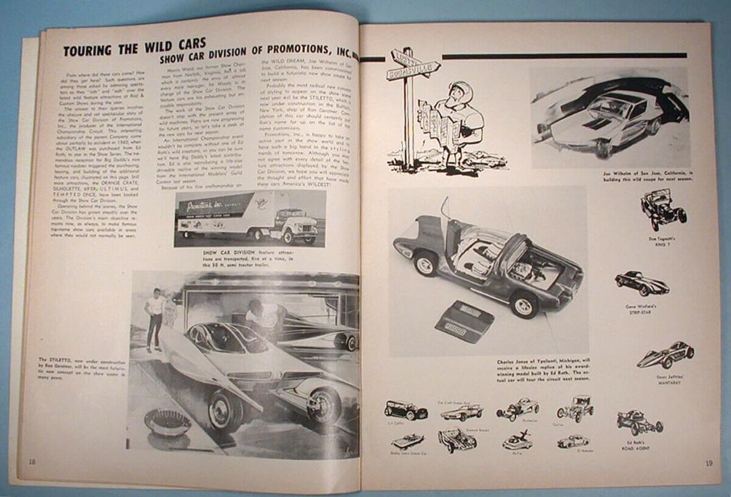 """1964 FALL EDITION"" HOT ROD & CUSTOM SOUVENIR PROGRAM - 1964 International Championship Auto Shows Prog_615"