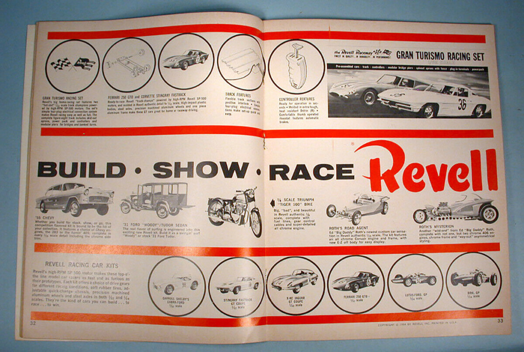 """1964 FALL EDITION"" HOT ROD & CUSTOM SOUVENIR PROGRAM - 1964 International Championship Auto Shows Prog_620"