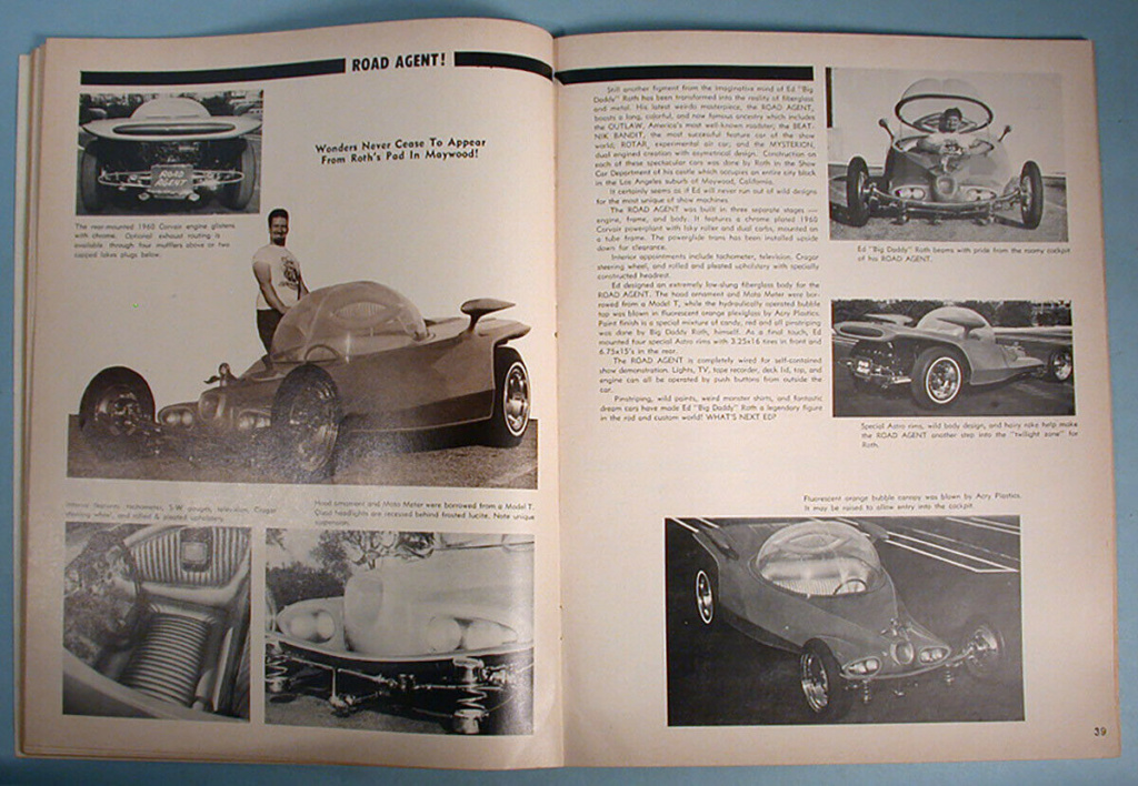 """1964 FALL EDITION"" HOT ROD & CUSTOM SOUVENIR PROGRAM - 1964 International Championship Auto Shows Prog_621"