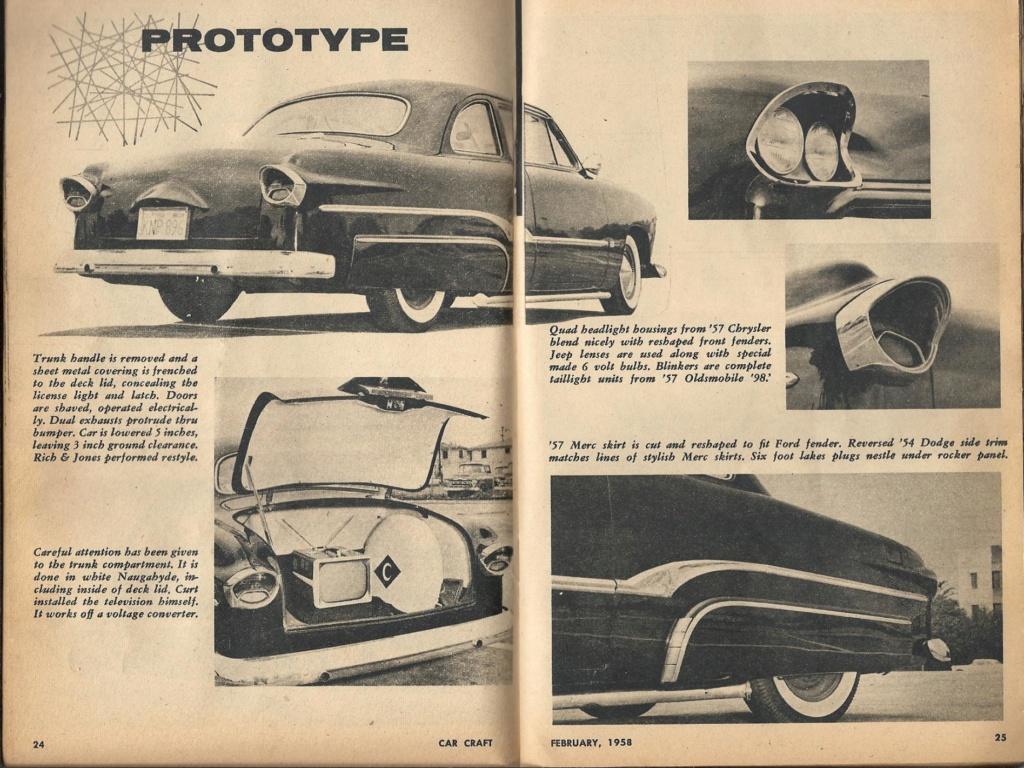 Ford 1949 - 50 - 51 (shoebox) custom & mild custom galerie - Page 27 Proto10
