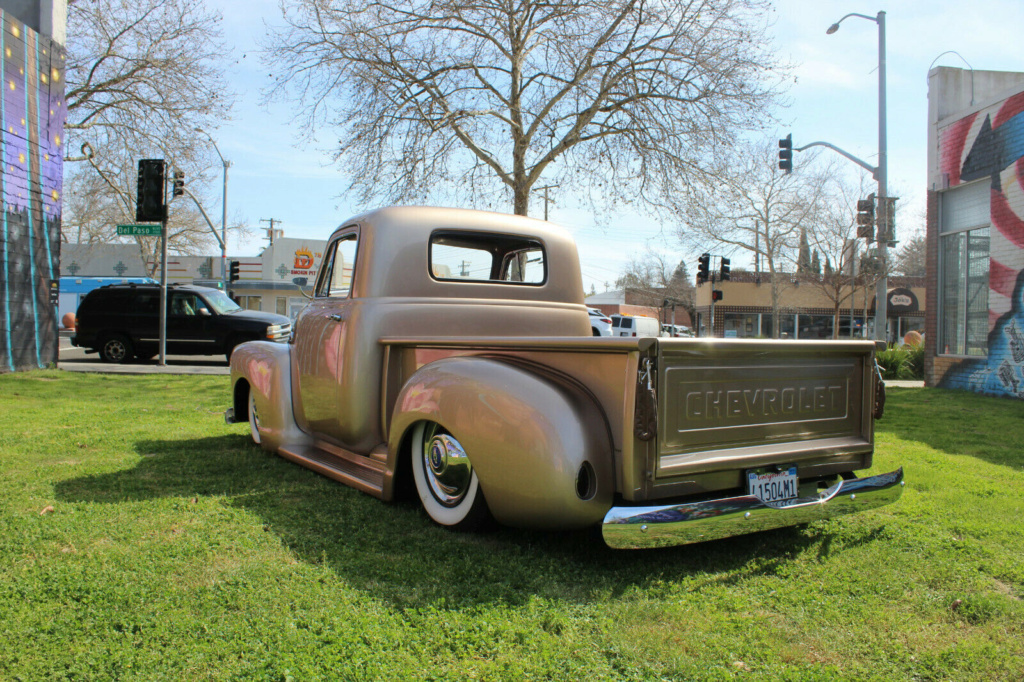Chevy Pick up 1947 - 1954 custom & mild custom - Page 4 Pu210