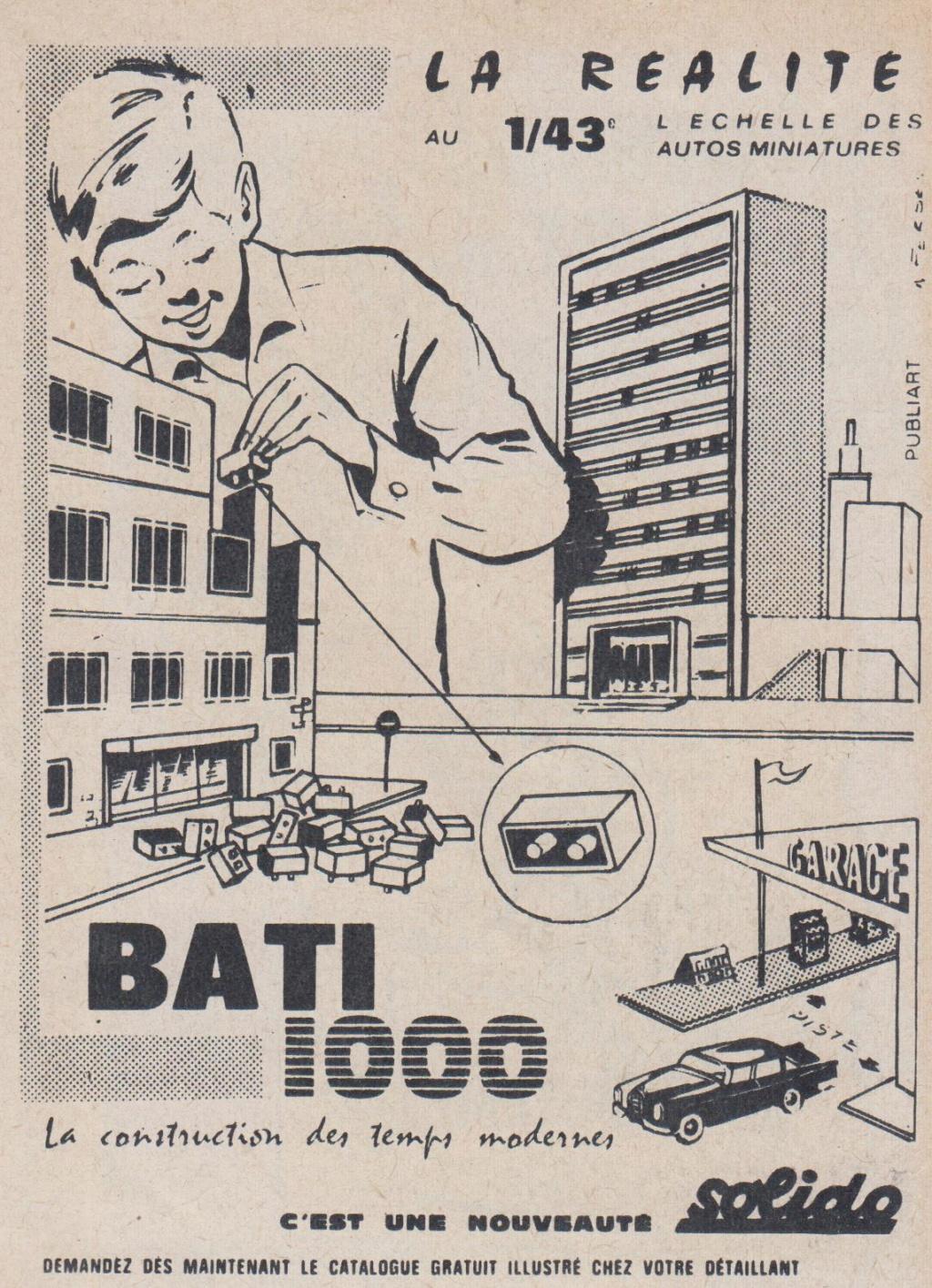 SOLIDO  BATI 1000  -  Jeu de construction. Pub_ba10