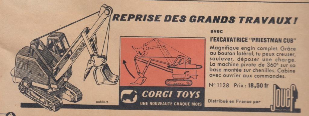 Publicités Corgi Toys début des années 60 - Corgi Toys Ads early 60s Pub_co10