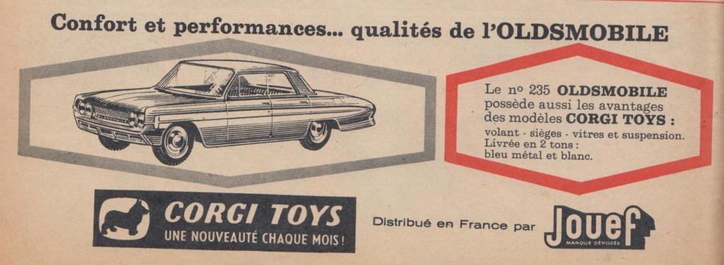 Publicités Corgi Toys début des années 60 - Corgi Toys Ads early 60s Pub_co11