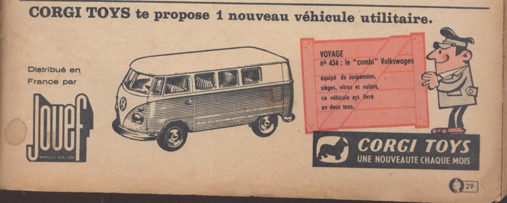 Publicités Corgi Toys début des années 60 - Corgi Toys Ads early 60s Pub_co12