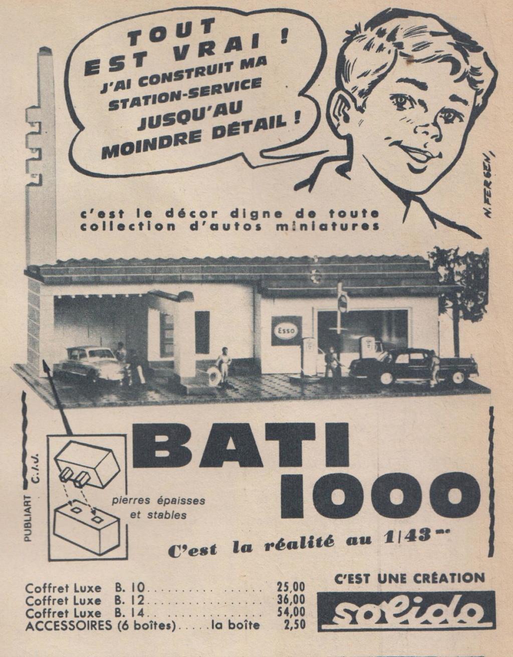 SOLIDO  BATI 1000  -  Jeu de construction. Pub_ga10