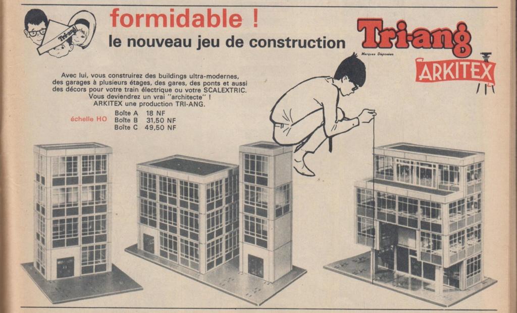 ARKITEX - Triang - Jeu de constructions Pub_je10