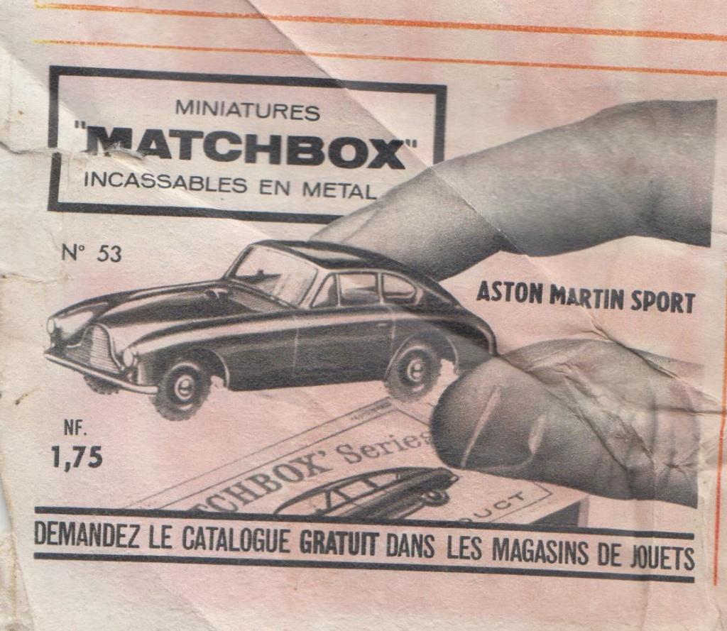 Publicités Matchbox début années 60 - Matchbox ads early 60s Pub_ma10
